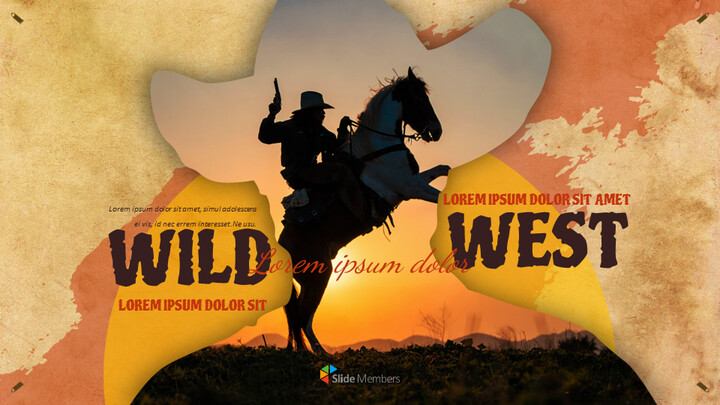 Wild West Google Slides Themes for Presentations_01