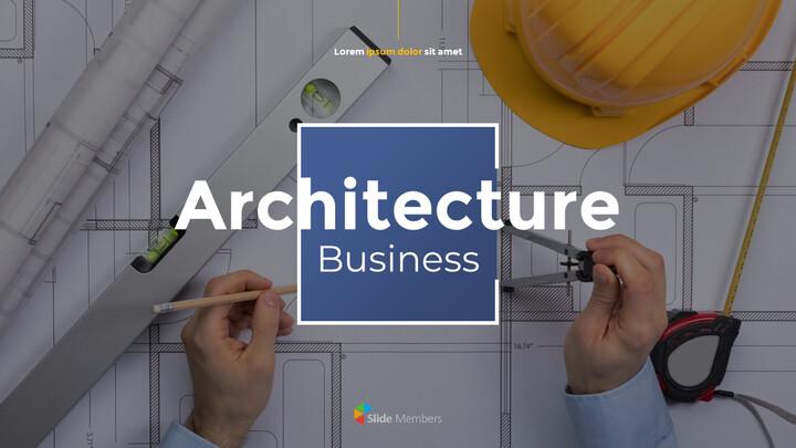 Architecture Business Pitch Deck Best PPT Design_01