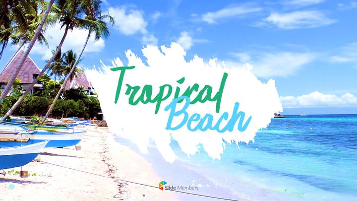 Tropical Beach slide powerpoint_01