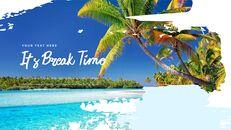 Tropical Beach slide powerpoint_14