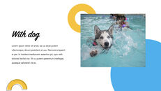 Swimming Pool template keynote free_11
