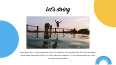 Swimming Pool template keynote free_12