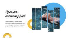 Swimming Pool template keynote free_13