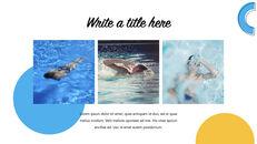 Swimming Pool template keynote free_17