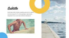 Swimming Pool template keynote free_18
