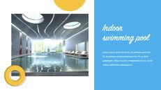 Swimming Pool template keynote free_19