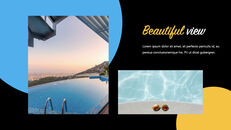 Swimming Pool template keynote free_21
