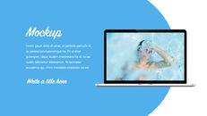 Swimming Pool template keynote free_34