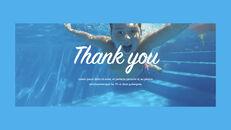 Swimming Pool template keynote free_35