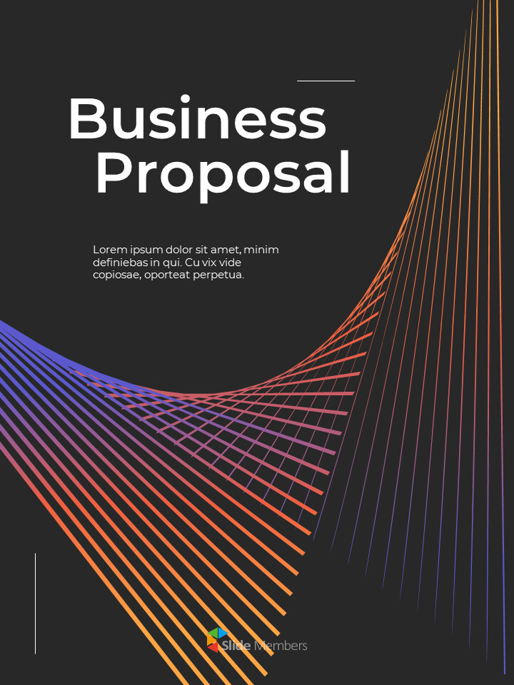 Modern Vector Line Business Proposal Google Presentation Templates_01