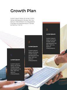 Modern Vector Line Business Proposal Google Presentation Templates_19