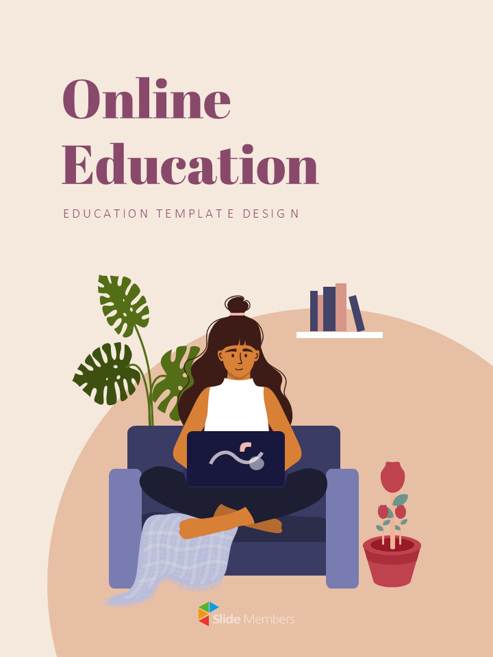 Online Education Presentation Google Slides Templates_01