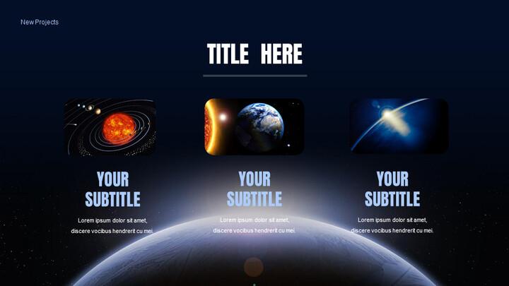 우주 프레젠테이션용 Google 슬라이드_02
