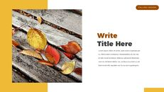 fallen leaves PowerPoint Templates Multipurpose Design_14