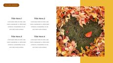 fallen leaves PowerPoint Templates Multipurpose Design_15