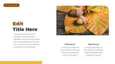 fallen leaves PowerPoint Templates Multipurpose Design_20