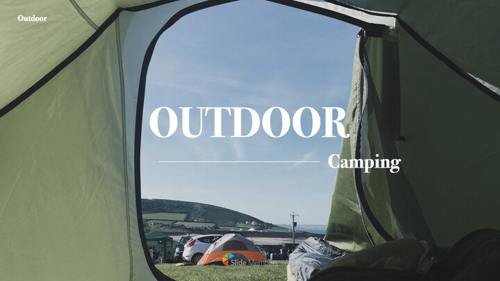 Outdoor Camping Business Keynote_01