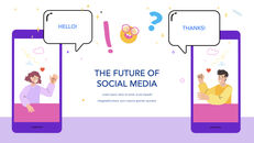 Social Media on Mobile Concept PowerPoint for mac_13