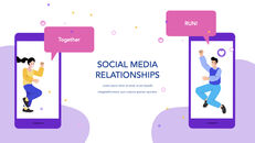 Social Media on Mobile Concept PowerPoint for mac_28