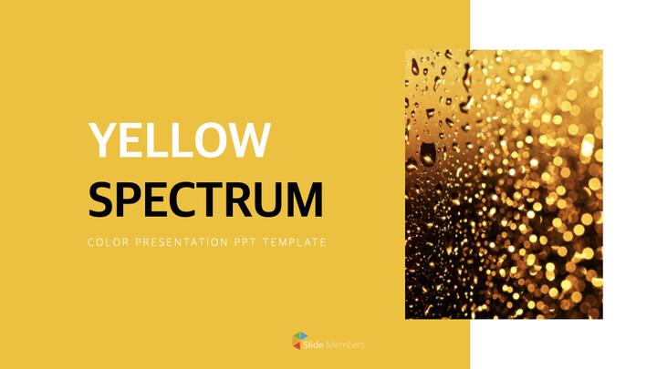Yellow Spectrum Simple Keynote Template_01