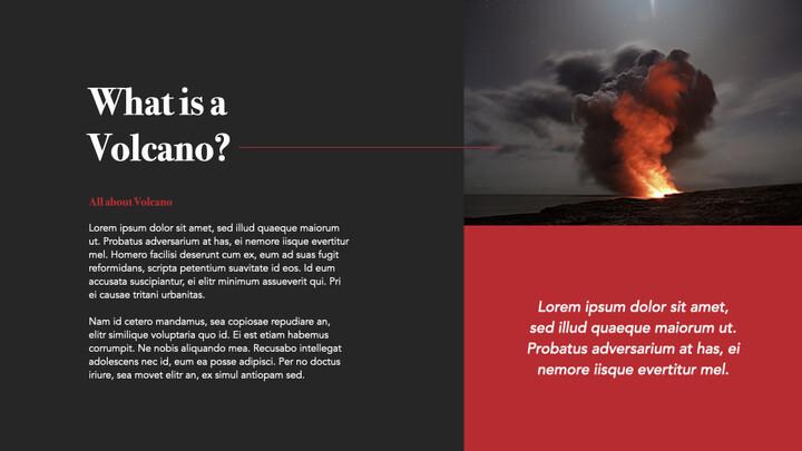 Volcano keynote theme_02