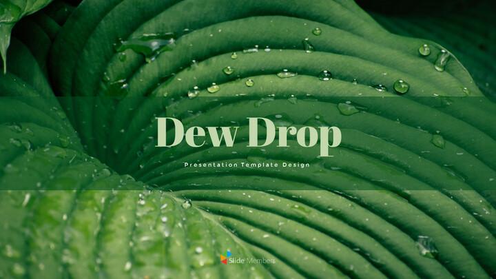 Dew Drop PowerPoint Templates Design_01
