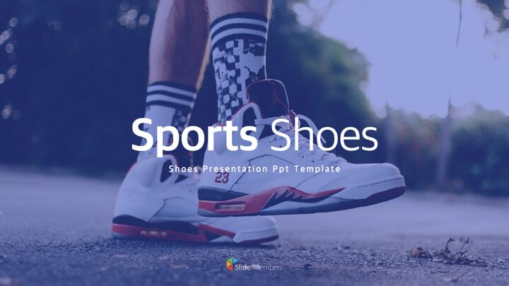 Sports Shoes Theme Keynote Design_01