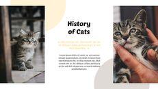 Tiny Kitten PowerPoint Business Templates_04