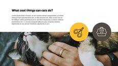 Tiny Kitten PowerPoint Business Templates_06