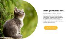 Tiny Kitten PowerPoint Business Templates_08