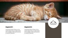 Tiny Kitten PowerPoint Business Templates_13