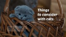 Tiny Kitten PowerPoint Business Templates_22