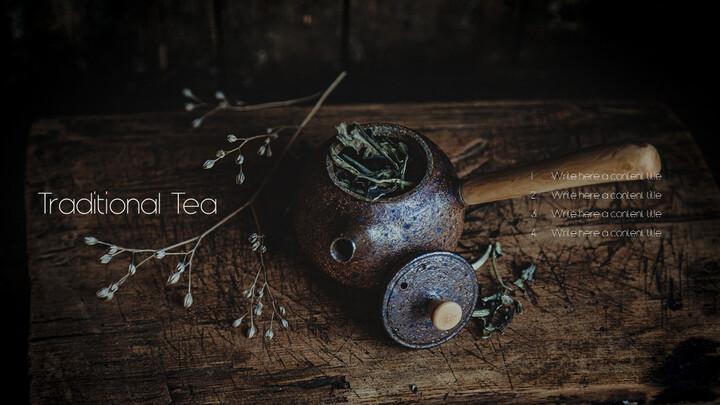 Traditional Tea Business Presentation PPT_02