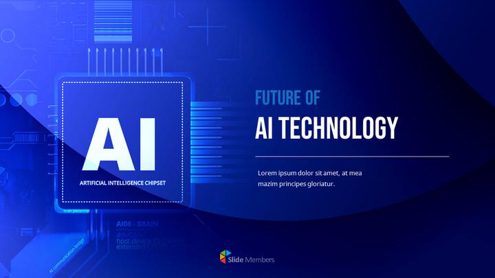 Future of AI Technology Easy Presentation Template_01