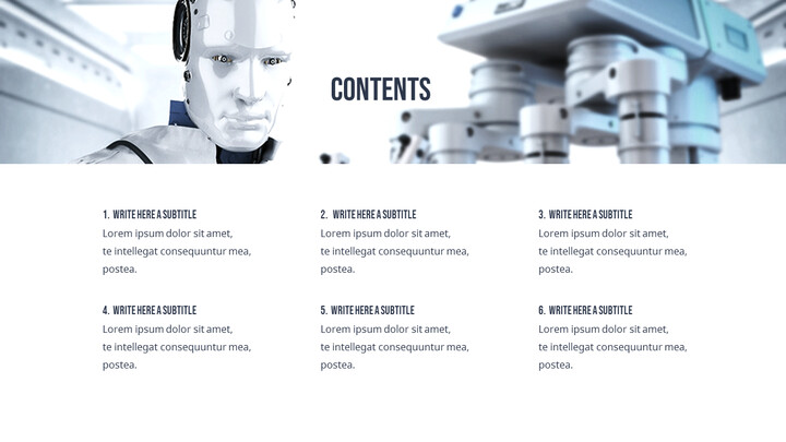 Future of AI Technology Easy Presentation Template_02