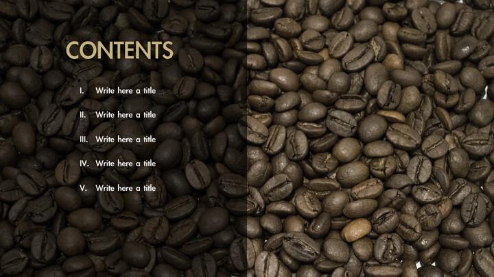 커피의 향기 키노트 템플릿_02