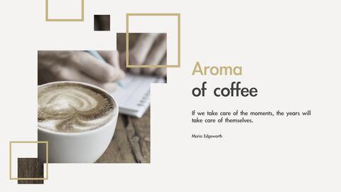 커피의 향기 키노트 템플릿_03