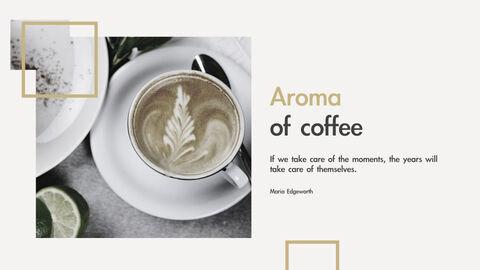 커피의 향기 키노트 템플릿_05