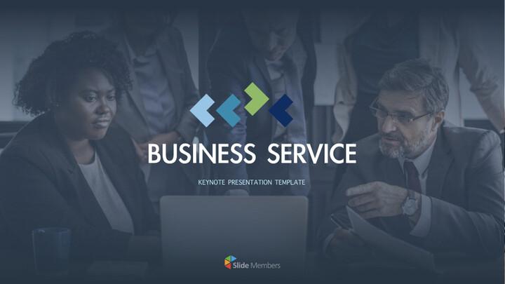비즈니스 서비스 키노트 프레젠테이션 템플릿_01