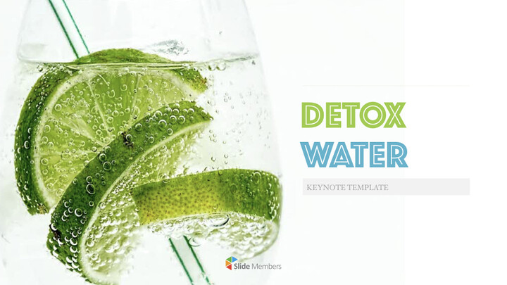 Detox Water Simple Keynote Template_01