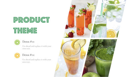 Detox Water Simple Keynote Template_03