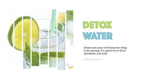 Detox Water Simple Keynote Template_05