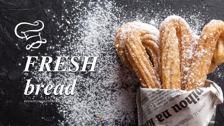 신선한 빵 키노트 템플릿_01