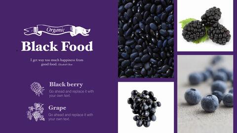 신선한 마트, 유기농, 신선한 음식, 농장 상점 키노트 디자인_10