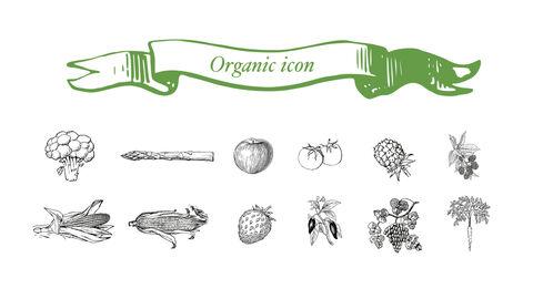 신선한 마트, 유기농, 신선한 음식, 농장 상점 키노트 디자인_35