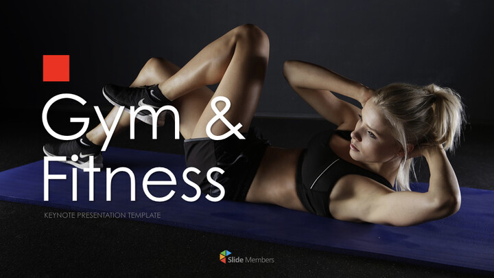 Gym and Fitness Keynote Presentation Template_01