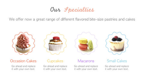 Sweet Cupcakes Simple Keynote Template_03
