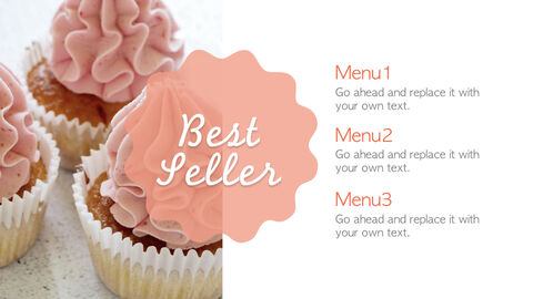 Sweet Cupcakes Simple Keynote Template_05