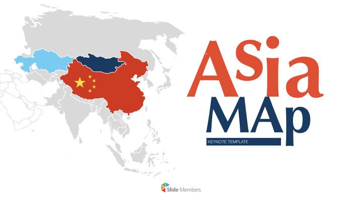 아시아 지도 Mac용 키노트_01