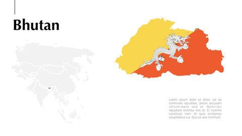 아시아 지도 Mac용 키노트_13